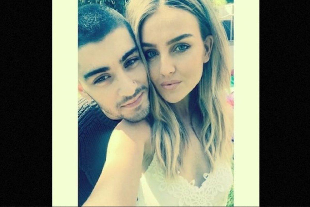 Mientras conquistaba el mundo de la música, Perrie conoció a Zayn Malik, exintegrante de One Direction Foto:Instagram/perrieeele
