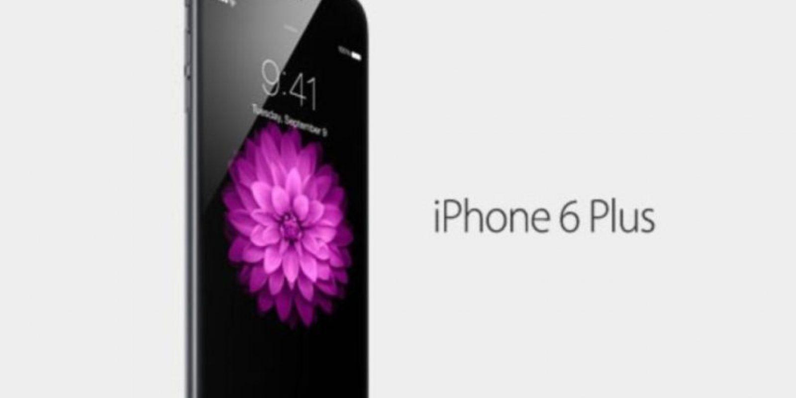 iPhone 6 Plus. Foto:Apple