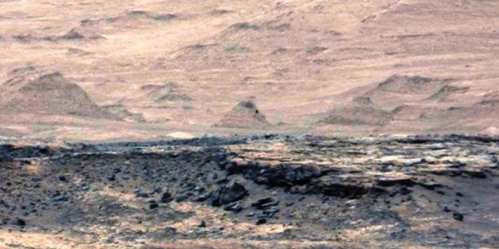 Estas son las imágenes con filtros Foto:NASA