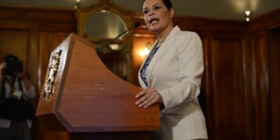 CONFIRMADO. Cae Roxana Baldetti por su presunta participación en #CasoLaLinea