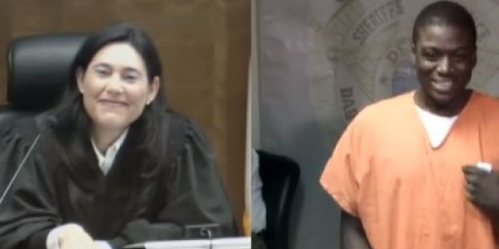 """La jueza Mindy Glazer respondió: """"Estaba sentada en la parte de arriba. Fue divertido ¿verdad?"""", para después dictarle sentencia. Foto:YouTube – Archivo"""