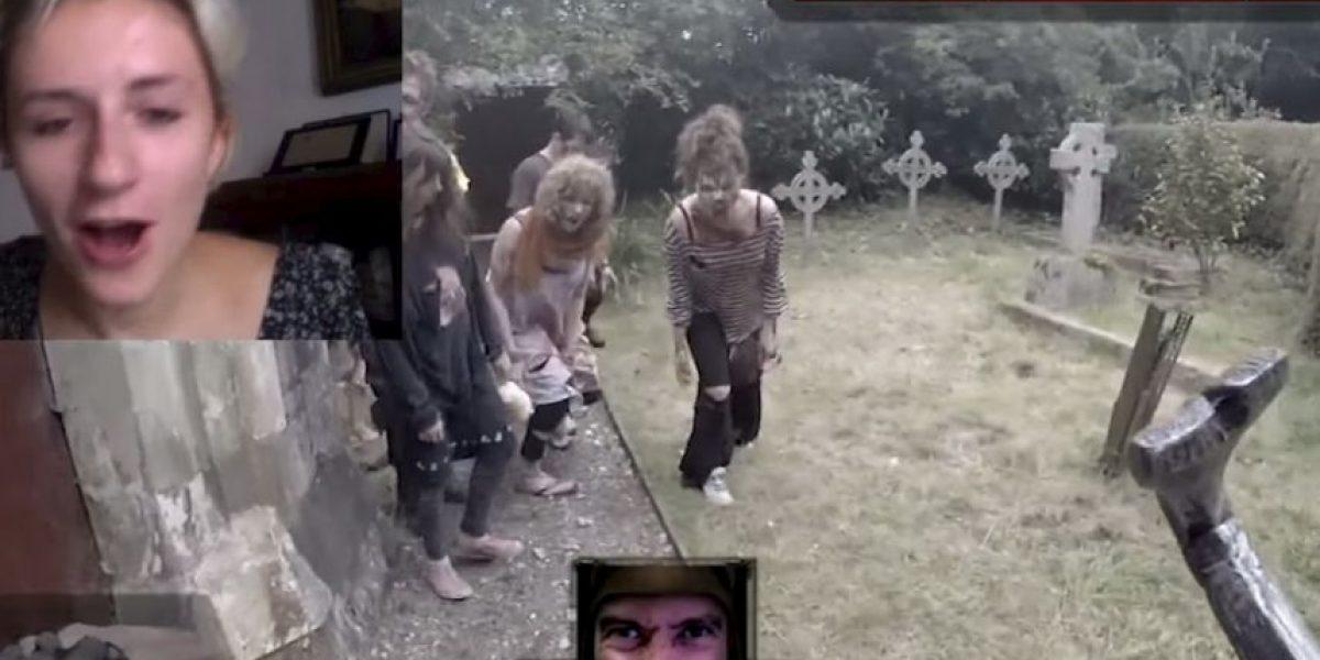 VIDEO: Esta es la experiencia de manejar un videojuego en la vida real