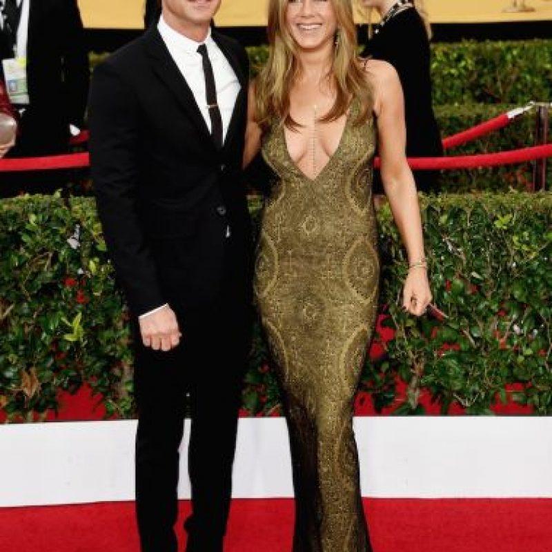 Además de ser actor, guionista, y director, Theroux ahora es mejor conocido como el esposo de Jennifer Aniston. Foto:Getty Images