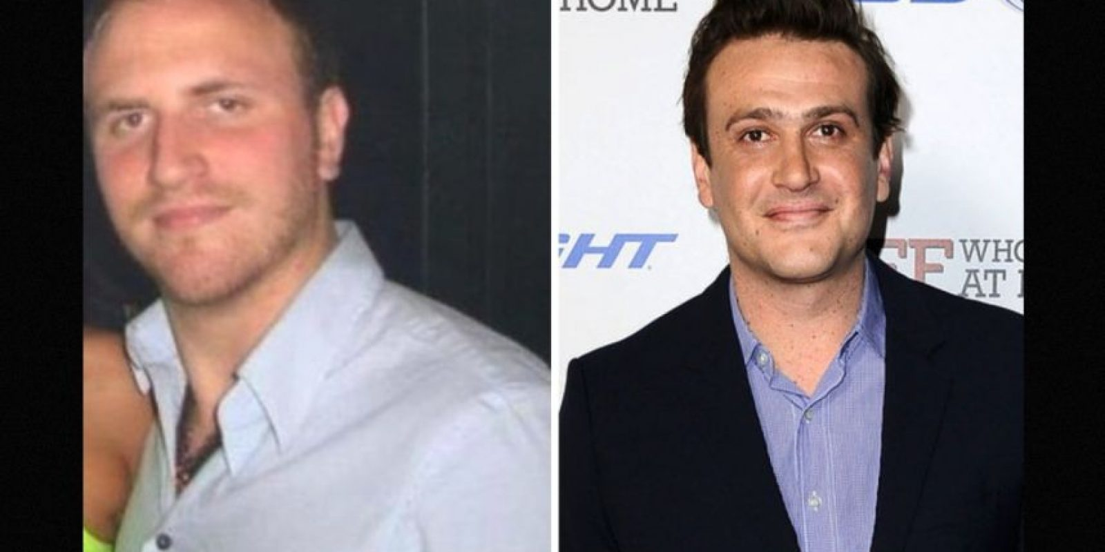 Igual a Jason Segel Foto: Reddit/Getty