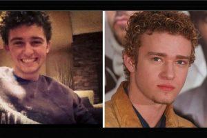 Igual a Justin Timberlake Foto:Reddit/Getty