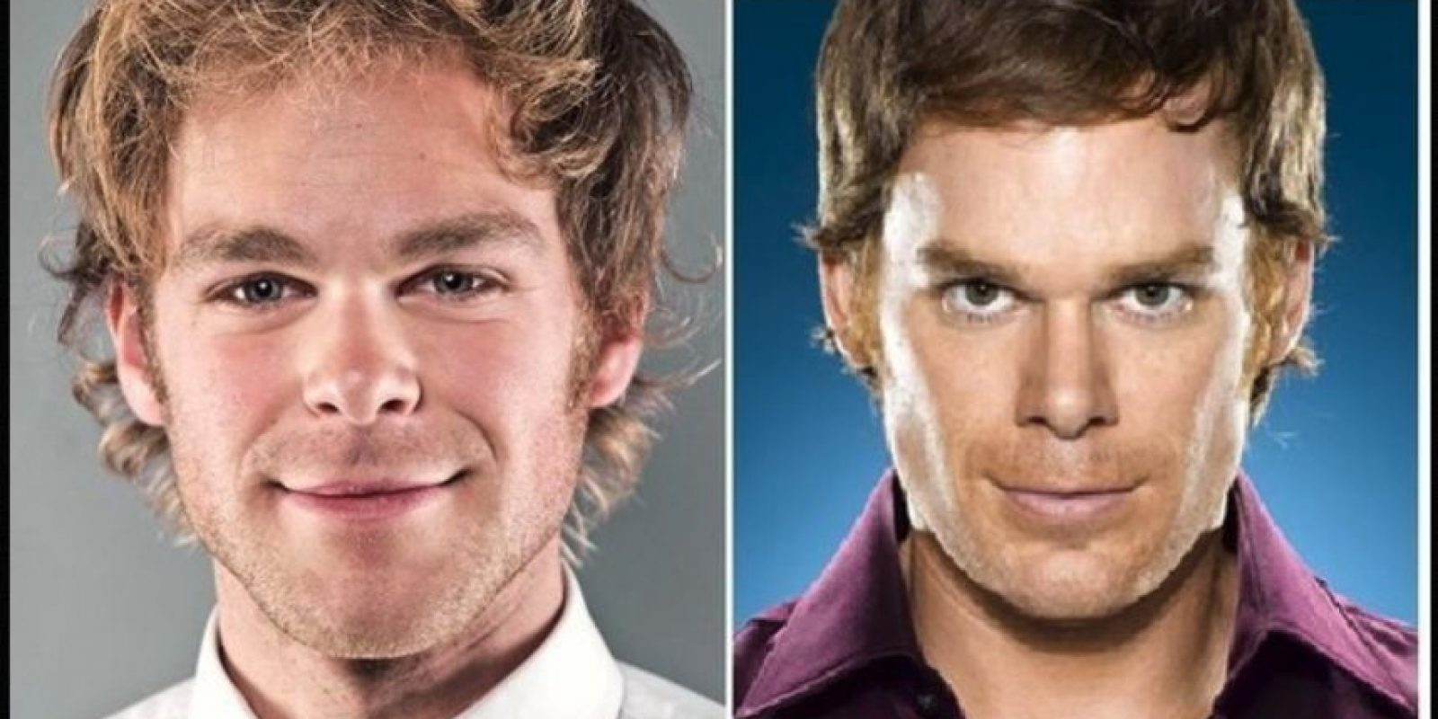 Igual a Michael C. Hall Foto: Reddit/Getty