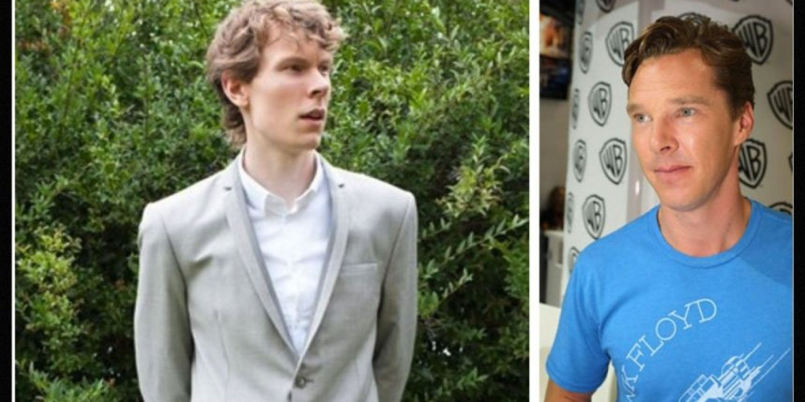 Igual a Benedict Cumberbatch Foto:Reddit/Getty