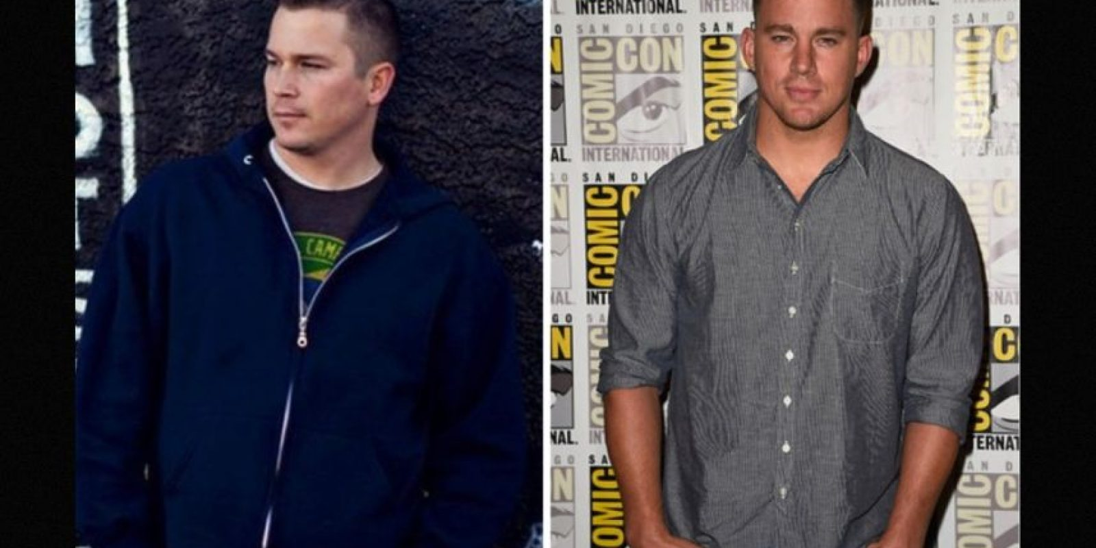 Igual a Channing Tatum Foto: Reddit/Getty
