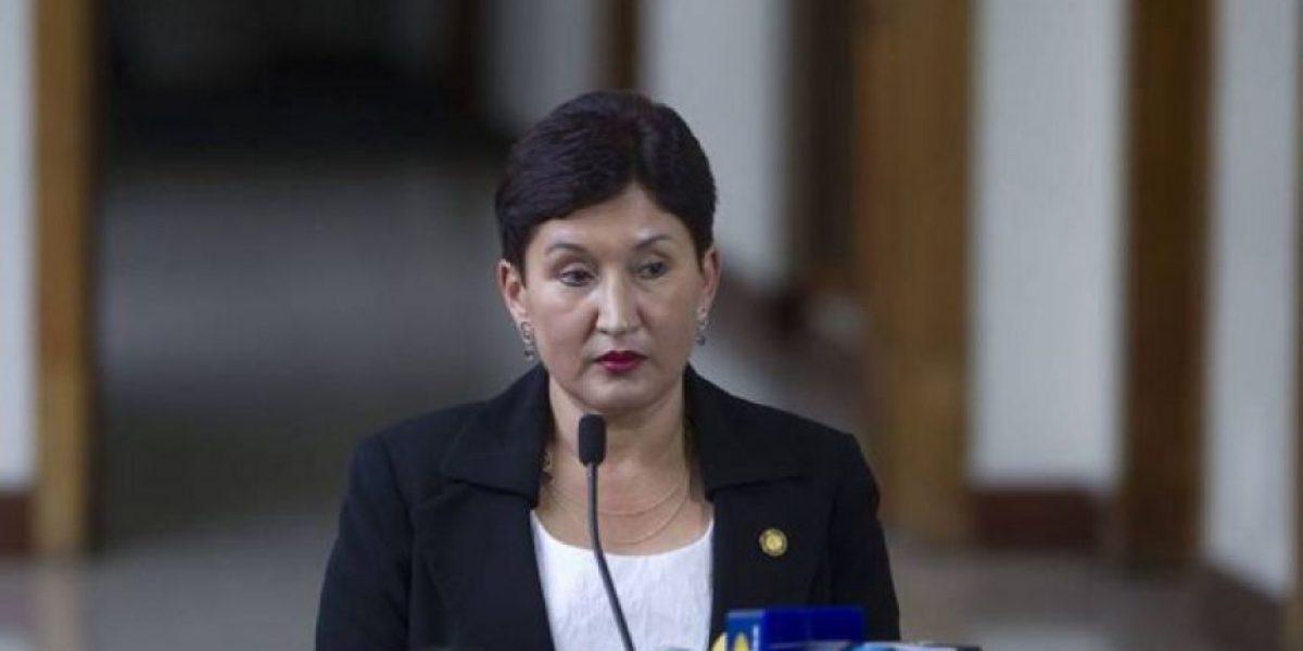 Aldana afirma que hay una investigación en contra del exministro de Gobernación