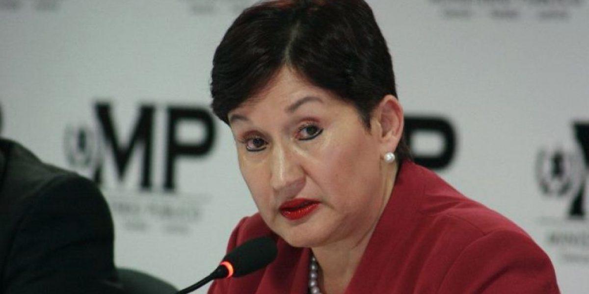 Thelma Aldana le envía mensaje a Otto Pérez