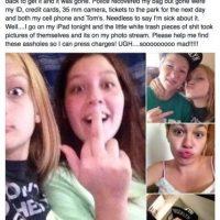 Este grupo de delincuentes se tomaron selfies con el iPhone que robaron y se hicieron virales. Foto:facebook.com/kelly.brownjones