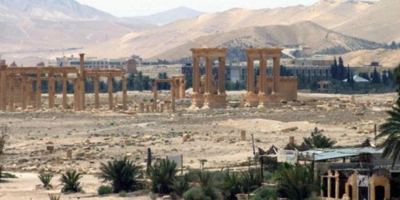 No sería la primera vez que el grupo terrorista afecta lugares históricos y de alto valor cultura Foto:AFP