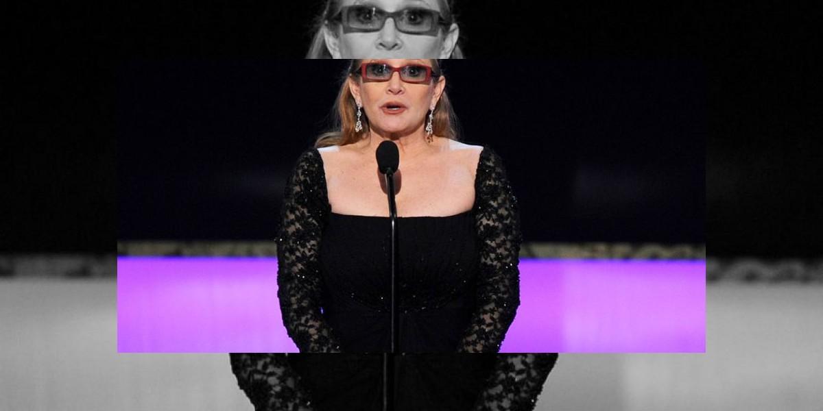 Carrie Fisher permanece en unidad de cuidados intensivos