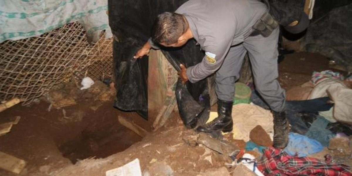 Fotos. Descubren túnel de 12 metros en cárcel en Escuintla