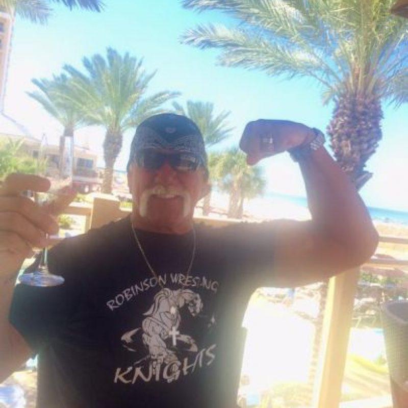 En 2005 ingresó al salón de la fama de la WWE. Foto:Vía facebook.com/hulkhogan