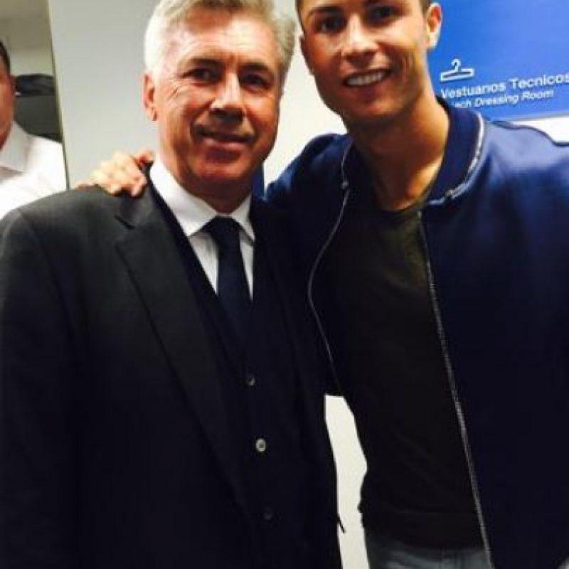 El futbolista portugués publicó esta foto el último día que tuvo acción con el Real Madrid. Junto a ella, publicó un mensaje donde pedía la continuidad de Carlo Ancelotti. Foto:Vía twitter.com/Cristiano