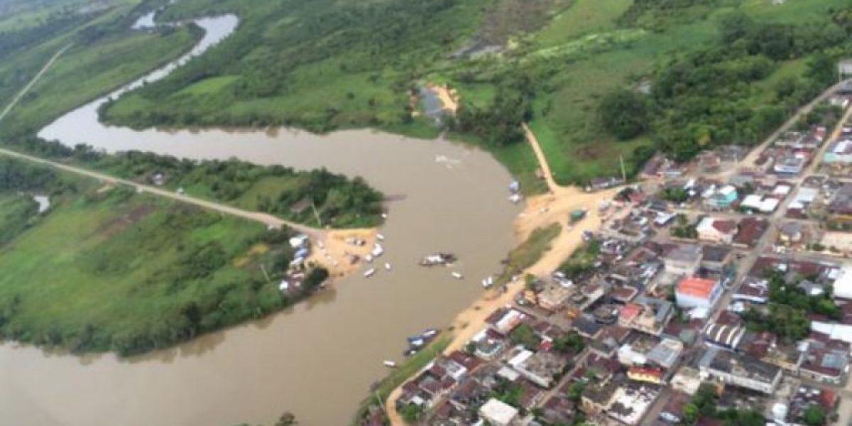 Fiscal ambiental y el titular de las áreas protegidas comprueban la contaminación de río