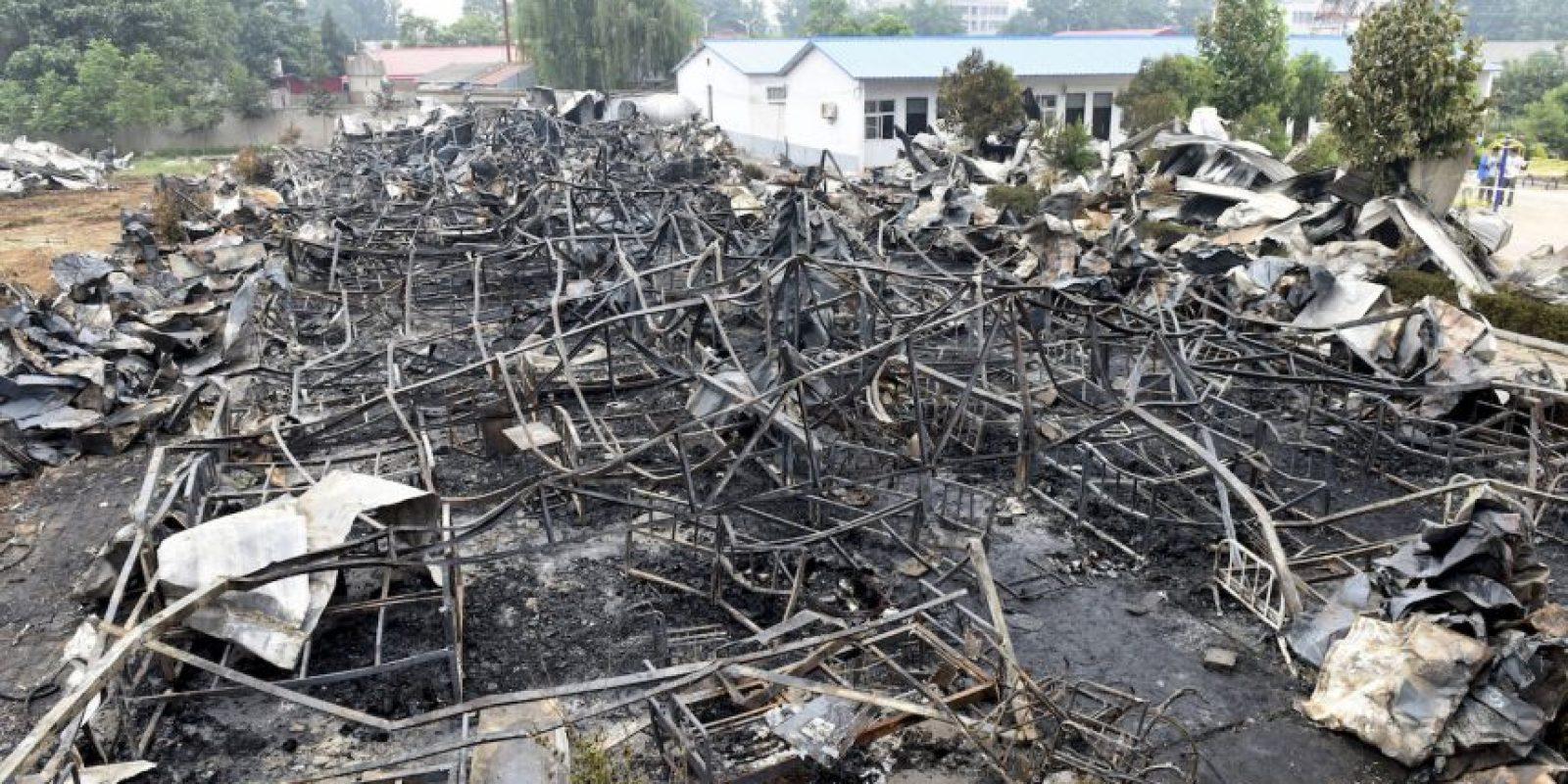 El incendio de un asilo dejó un saldo de 38 muertos. Foto:AP