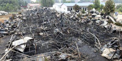 38 muertos por incendio de geriátrico en China