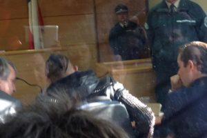 Las autoridades revelaron después que Vidal conducía bajo los efectos del alcohol, por lo que fue detenido. Foto:Vía twitter.com/mluiscastillo