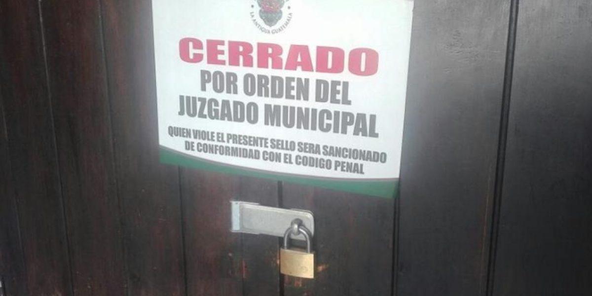 Cierran de manera definitiva restaurantes en La Antigua Guatemala por orden de juez