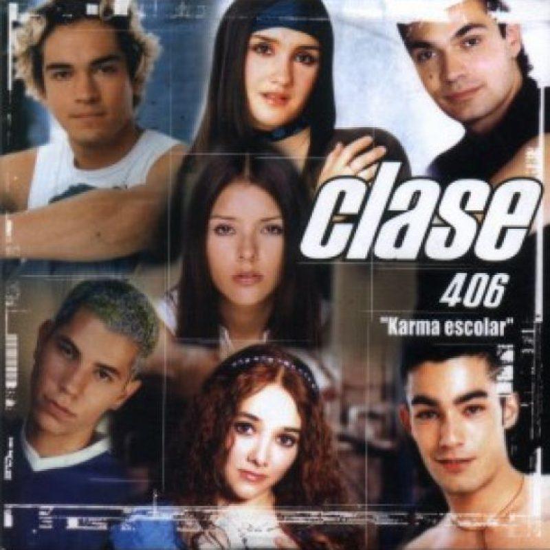 "Así lucía en la telenovela ""Clase 406"". Foto:vía twitter.com/ChristianChNews"