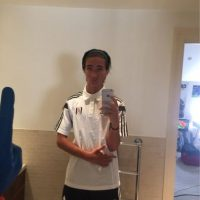 """Apoyo al club donde juego, el Fulham"". Foto:Vía twitter.com/FFC_JM"