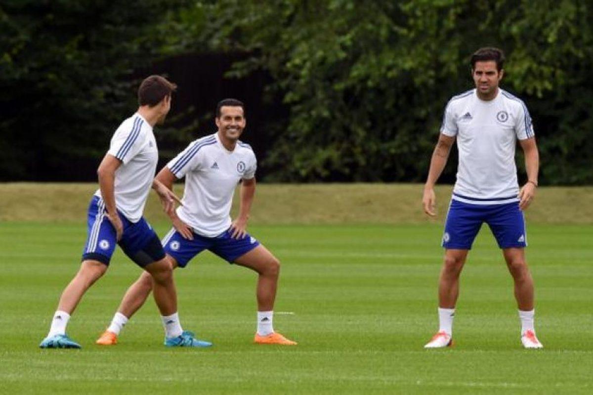 El español del Barça es el último fichaje de Chelsea y se integró al club este 20 de agosto. Foto:chelseafc.com