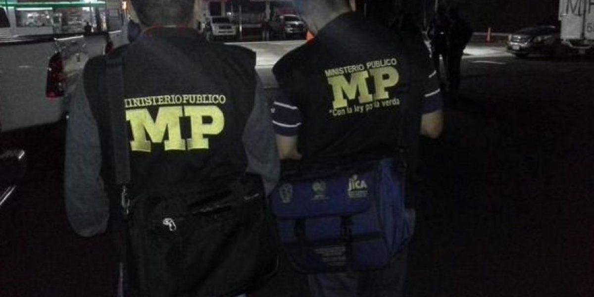 Tras allanamientos, MP desarticula banda dedicada al sicariato