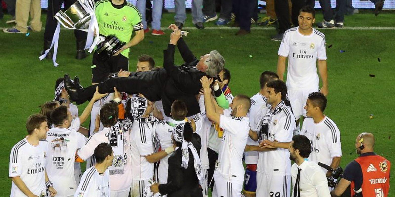 La etapa de dos temporadas con el cuadro merengue llegó a su fin para el italiano. Foto:AFP