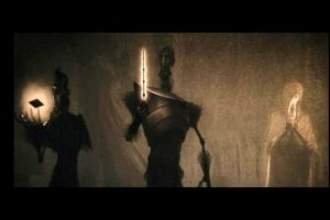 """""""El Cuento de los Tres Hemanos"""" relata como los hermanos """"Peverell"""" se encontraron con la Muerte Foto:YouTube/WarnerBros"""