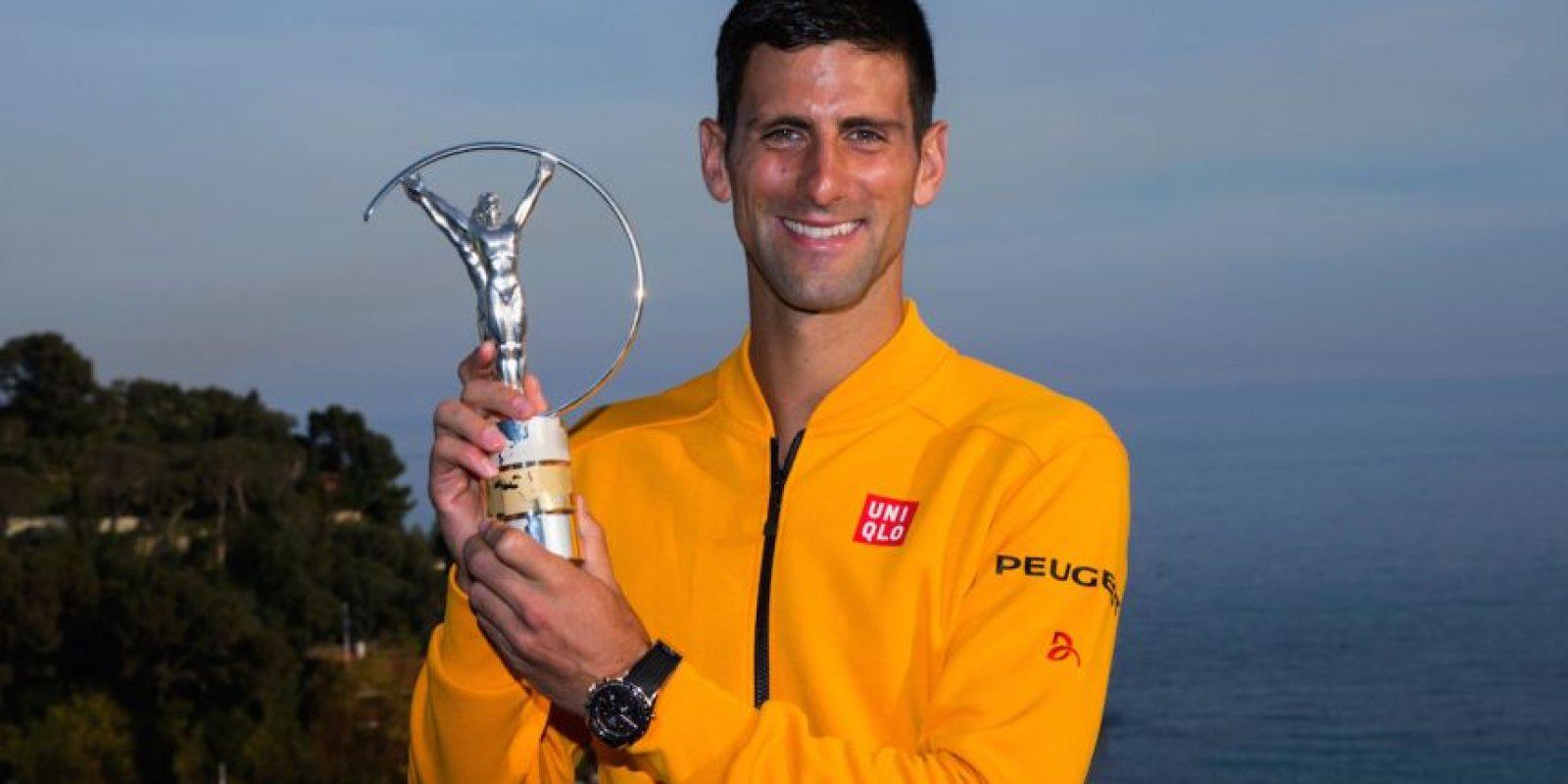 18. Novak Djokovic @djokernole (Tenis/Serbia): 26 mil 530 dólares por tuit. Foto:Getty Images