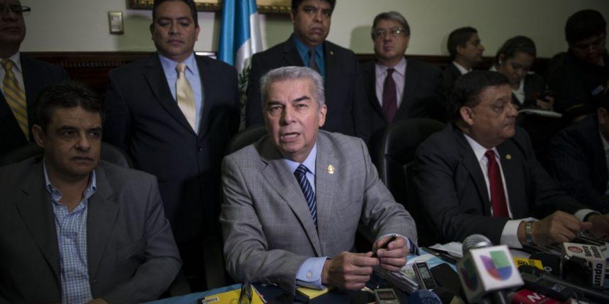 Este viernes se conocerá a la comisión que investigará a Otto Pérez Molina
