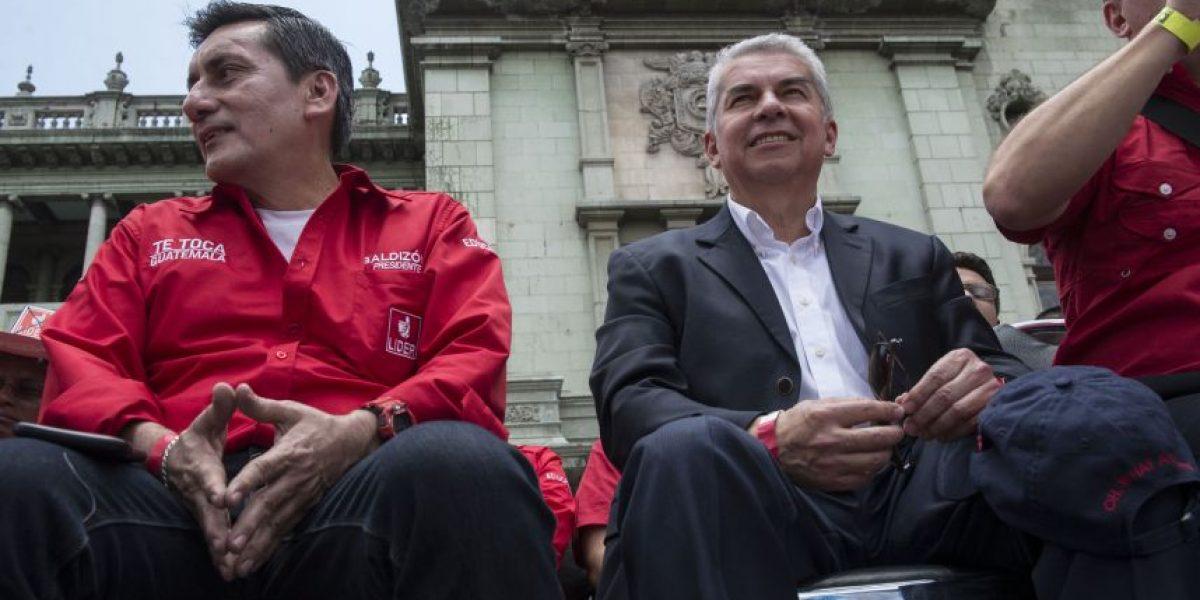 Luis Rabbé, candidato a diputado por el Listado Nacional con Líder