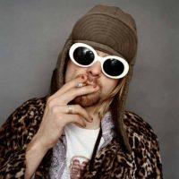 Kurt Cobain posando para una fotografía. Foto:vía Getty Images