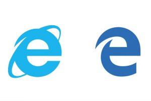 Este es el nuevo logotipo de Micorsoft Edge Foto:Microsoft