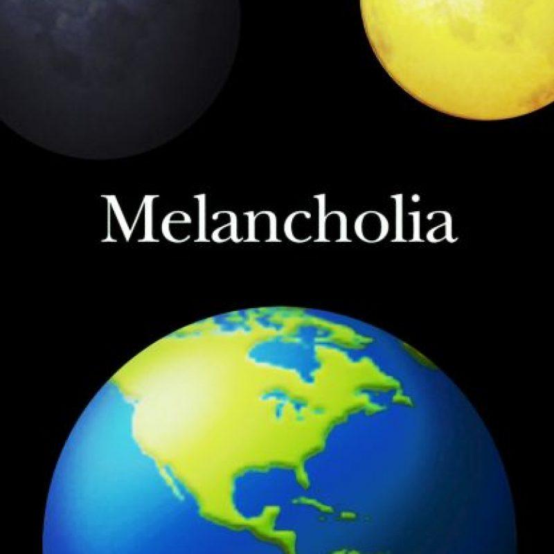Melancholia (2011). Foto:vía emojifilms.tumblr.com