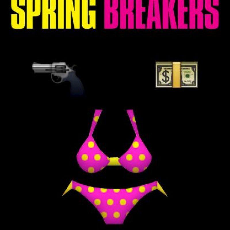 Spring Breakers (2012). Foto:vía emojifilms.tumblr.com