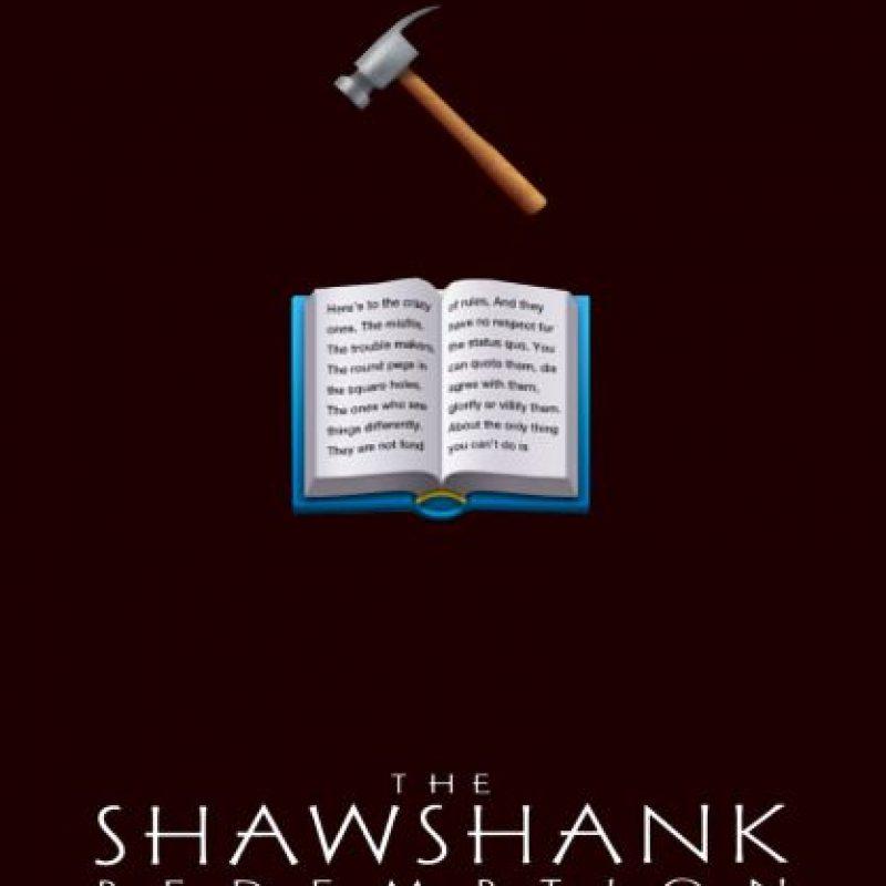 The Shawshank Redemption (1994). Foto:vía emojifilms.tumblr.com