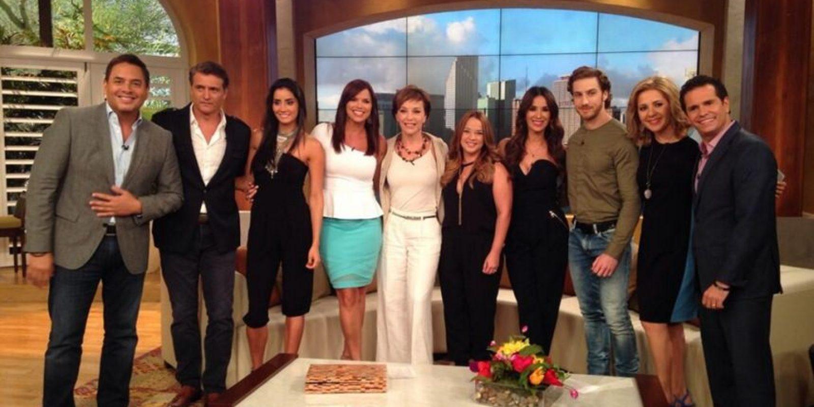 """El reconocimiento a """"Programa favorito"""" fue para el show """"Un Nuevo Día"""". Foto:Telemundo"""