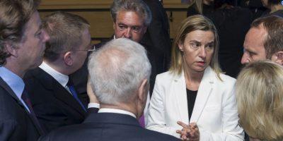 Líderes de la Unión Europea discuten sobre muertes de migrantes en el Mediterráneo