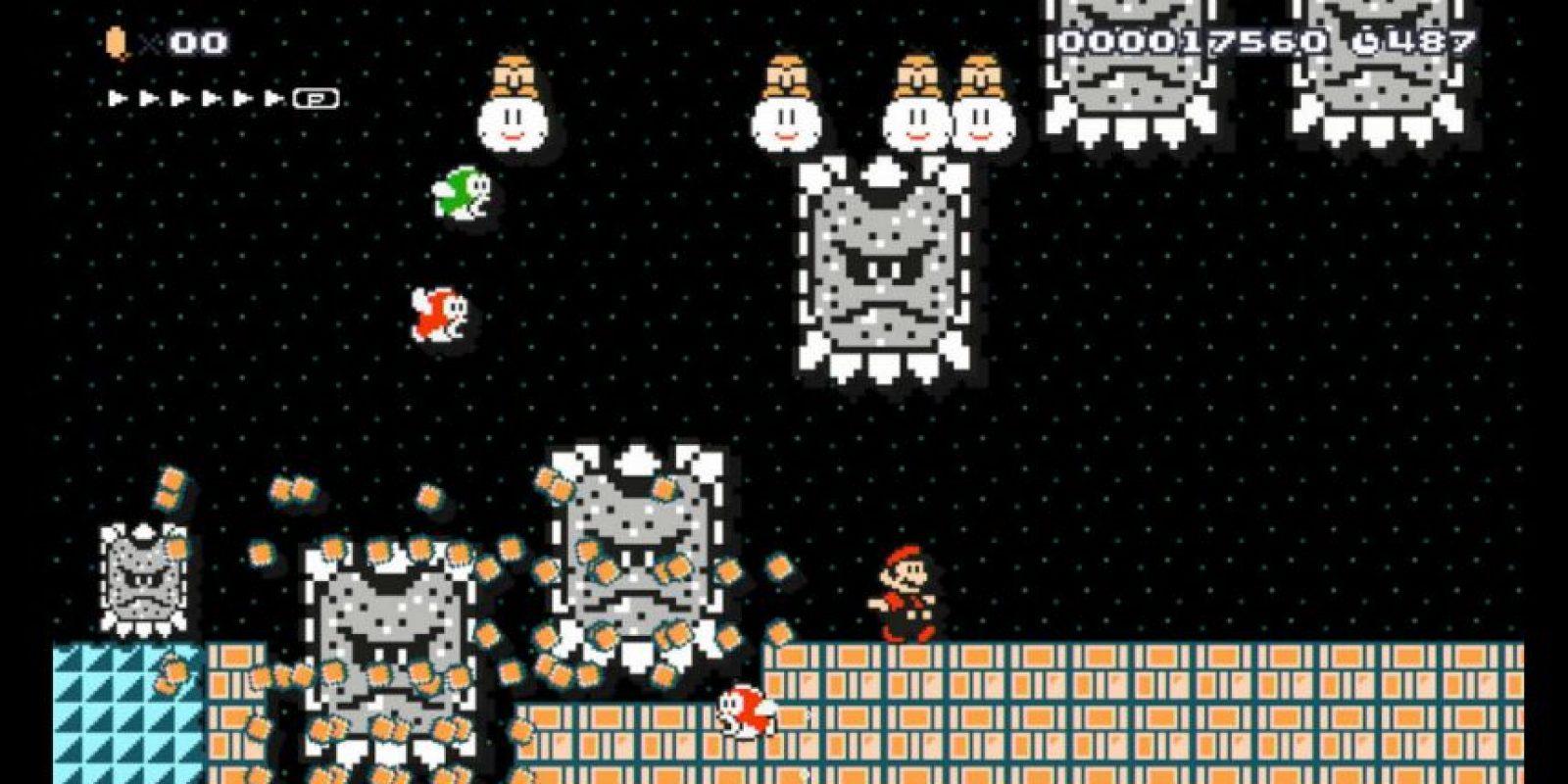 Esto es lo que podrán crear en este videojuego Foto:Nintendo