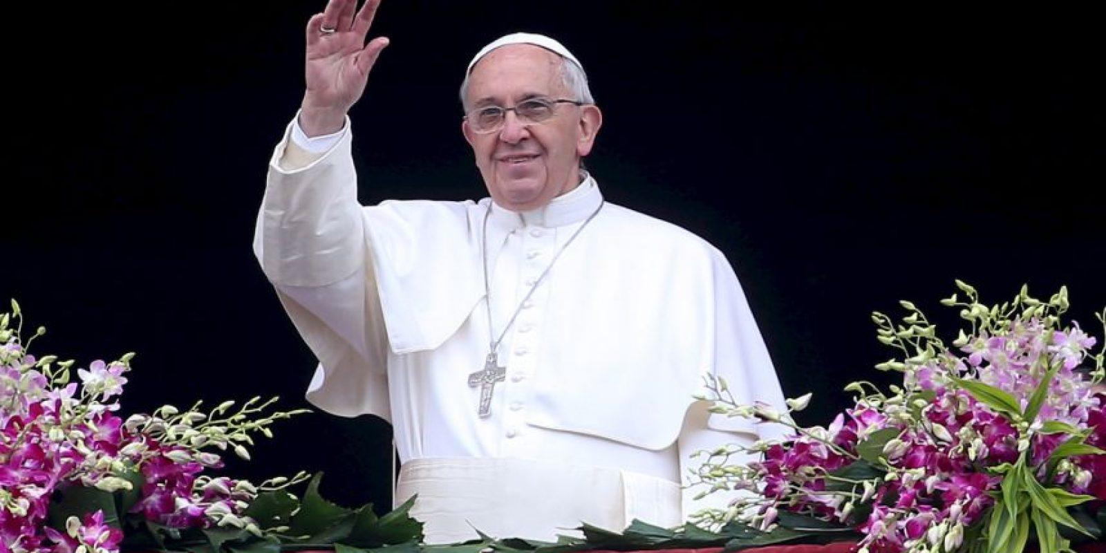 El papa Francisco no ve televisión ni usa Internet. Foto:Getty Images