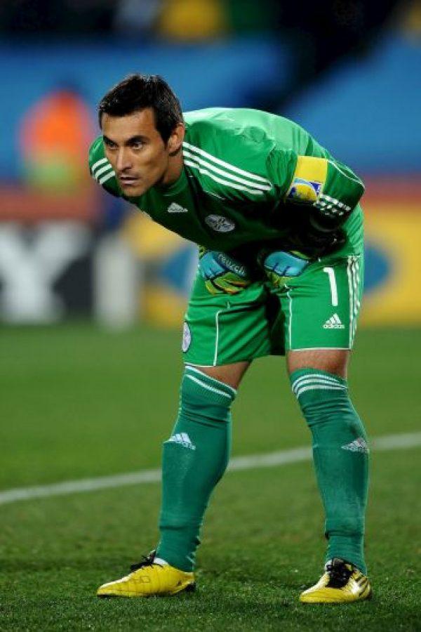 En frente tendrán al experimentado arquero Justo Villar. Foto:Getty Images