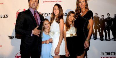 Sylvester Stallone también tiene una hija llamada Shopia Foto:Getty Images