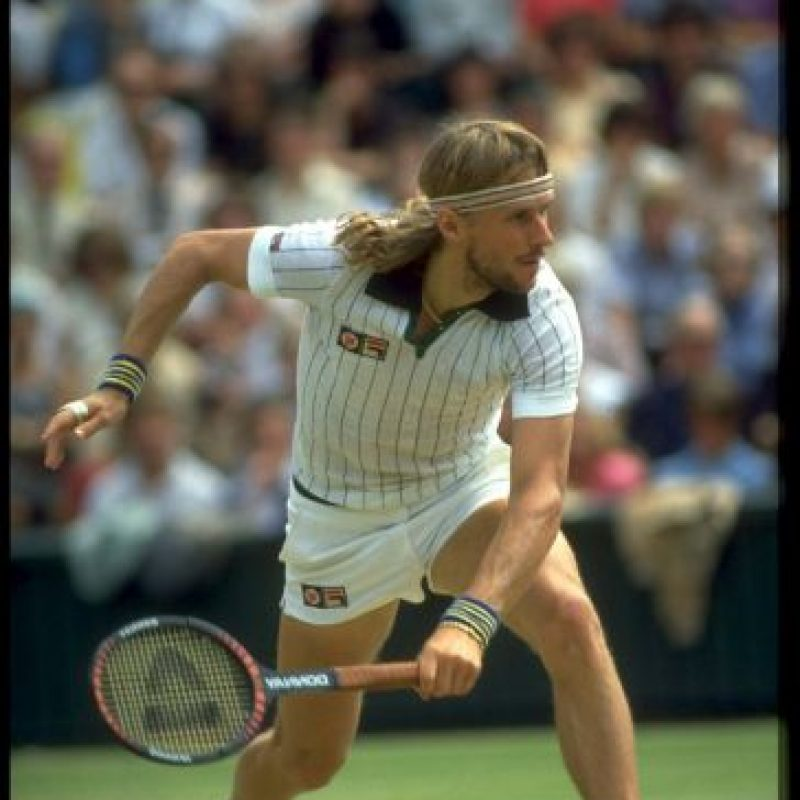 6. Bjorn Borg Foto: Getty Images