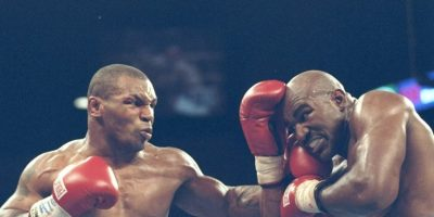 Mike Tyson vs. Evan Holyfield Foto: Getty Images