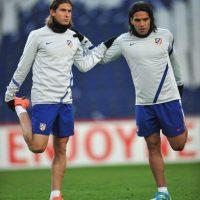 El colombiano volvió a jugar la fase final de la Europa League, ahora con los españoles. Foto:Getty Images