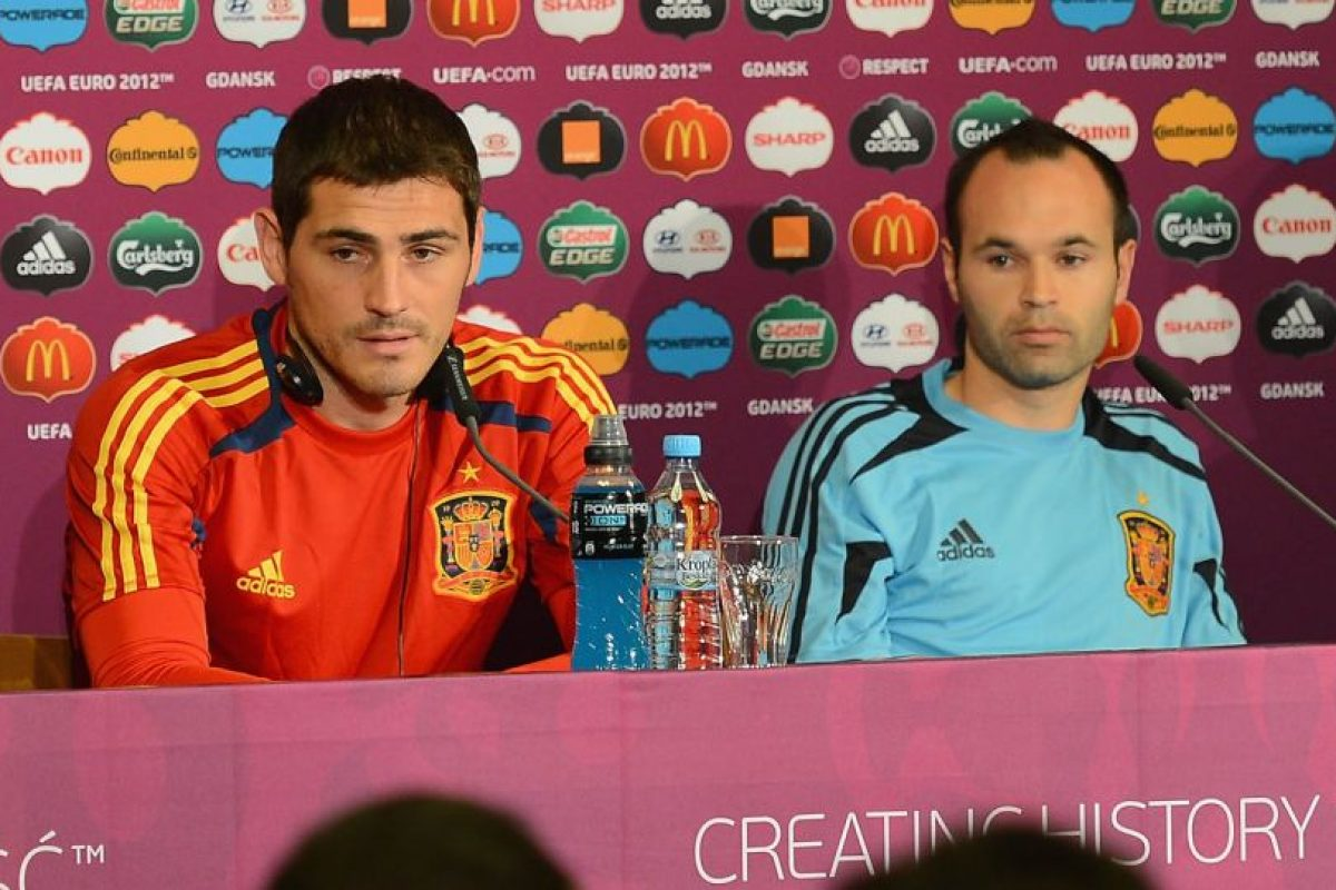 """Iker, mucha suerte en tu nuevo equipo"". Foto:Getty Images"