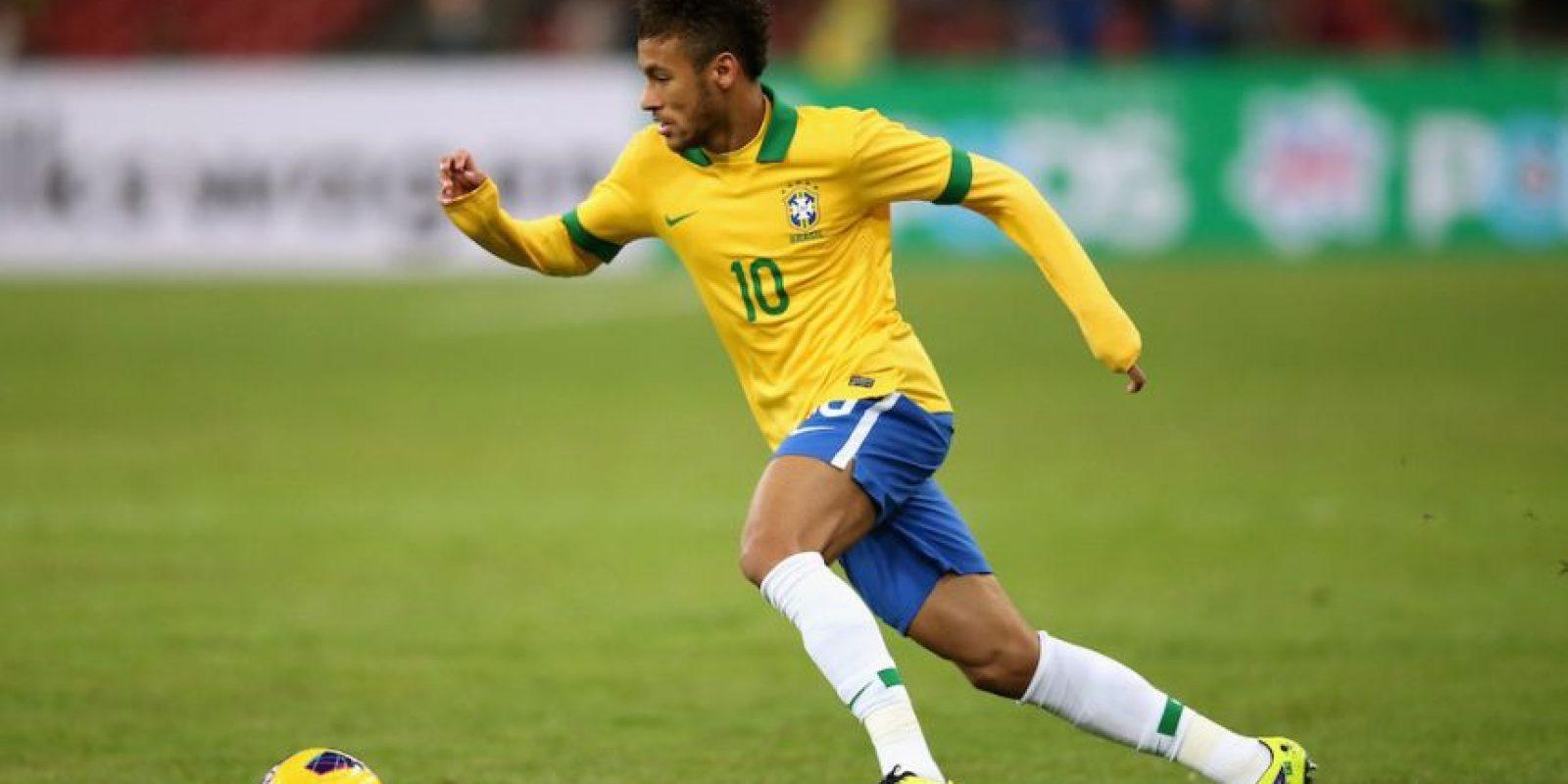 Neymar es la máxima estrella de la Selección brasileña. Foto:Getty Images